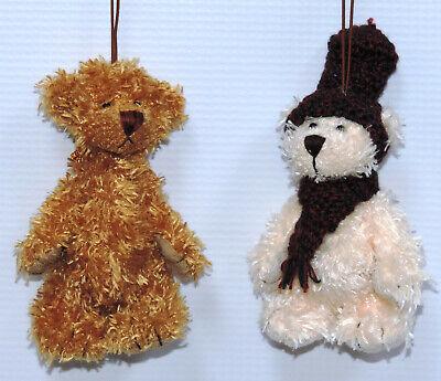 Miniature Teddy Bear Ornaments - 12 pc. Assorted Set 5