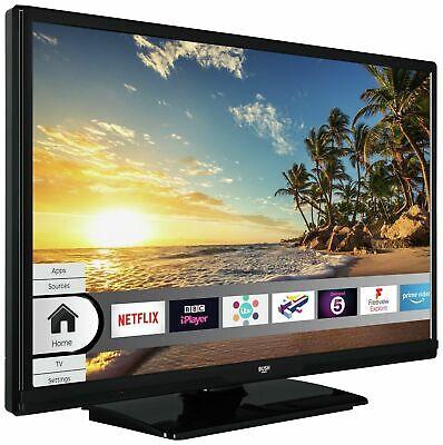 Bush 24 Inch Smart HD Ready TV / DVD Combi - Black WiFi built In 2