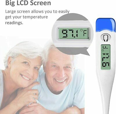 Digital Fever Thermometer for Adults and Kids, Medical Oral/Rectal/Underarm Body 5