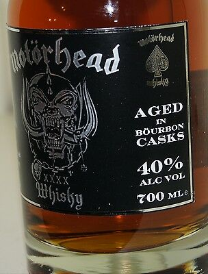 Mackmyra Motörhead Whisky 40% batch 4 swedish single malt 0.7L in GePa