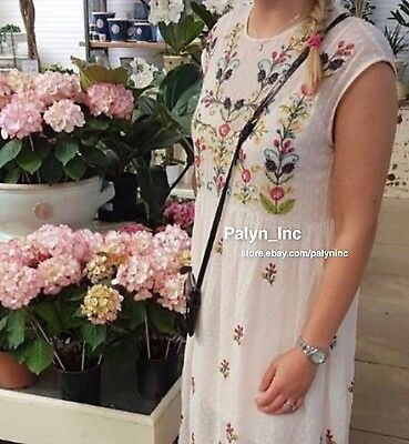 7a4dc442 ... NWT ZARA SS17 Nude Pink PLUMETIS EMBROIDERED DRESS FLORAL 6895/072_XS S  M L 2