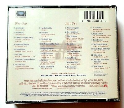 Forrest Gump The Soundtrack 32 American Classics on 2 CD's 1994 Sony 2
