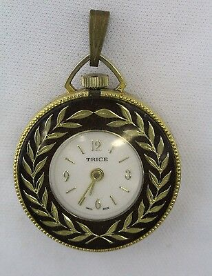 Vintage trice watch pendant pocket mechanical collectible swiss made 2 of 9 vintage trice watch pendant pocket mechanical collectible swiss made aloadofball Gallery