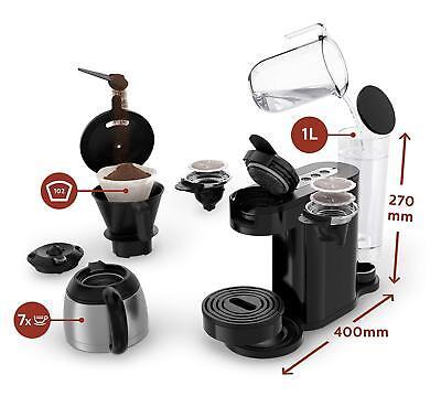 Senseo HD7892/60 Machine à Café de 2 en 1 Capsules Moulu ou 1450 W 4