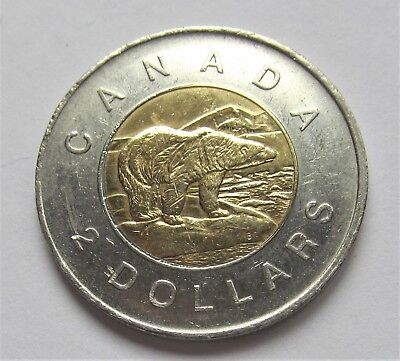 2009 CANADA 2 DOLLAR TOONIE - combined shipping 2