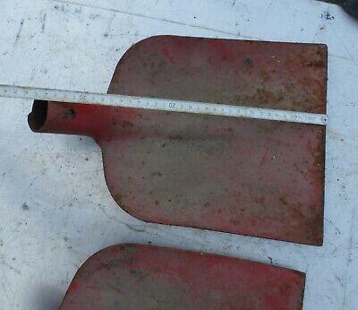 alte Schippe Schaufel Eisenschippe Eisen massiv DDR 🍀 antik Eisenschaufel rot 3