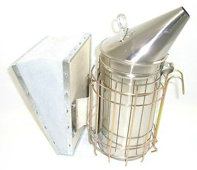 Beekeeping Stainless Steel Smoker, tool set and brush package 2