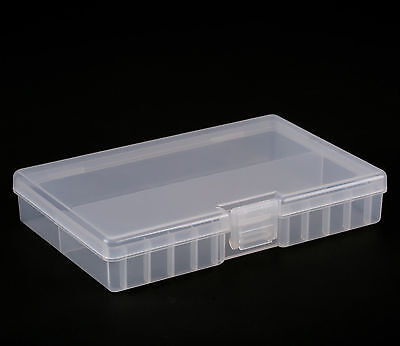 3 Of 12 Clear AA/AAA Plastic Battery Storage Case/Organizer/Holder Holds 48 AA  Batteries