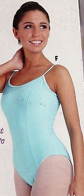 NWT Main Street Camisole leotard  Princess seam ch//ladies sizes colors w//lining