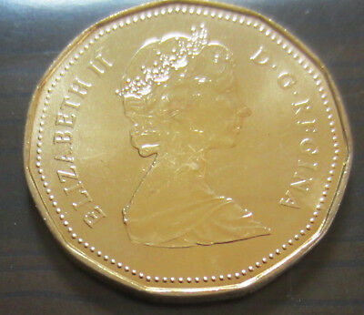 1987 Canada PROOF-LIKE/SPECIMEN One Dollar Coin. (UNC. Canadian Loonie 1 $) 2