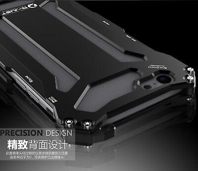 For iPhone 5s SE 6s 7 Plus Luxury Shockproof Aluminum Metal Slim Hard Cover Case 7
