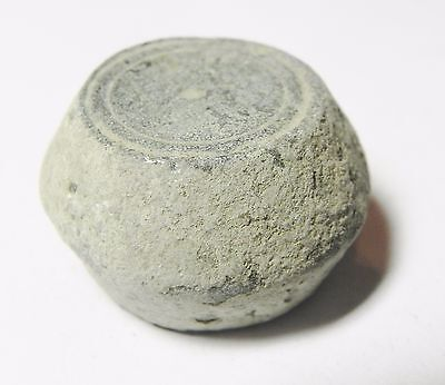 Zurqieh -Aa1974- Ummayyad Bronze Weight (Waznah)  7 - 8Th Cent. A.d - 2 Uqiyyah 3