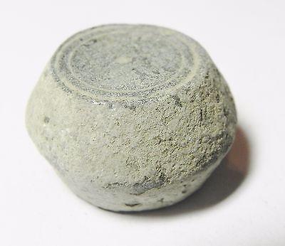 Zurqieh -Aa1974- Ummayyad Bronze Weight (Waznah)  7 - 8Th Cent. A.d - 2 Uqiyyah