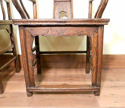 Antique Chinese High Back Arm Chairs (5511) (Pair), Circa 1800-1849 9