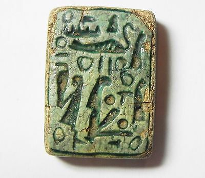 Zurqieh -Abq4- Ancient Egypt, New Kingdom. Large Stone Plaque 1400 B.c