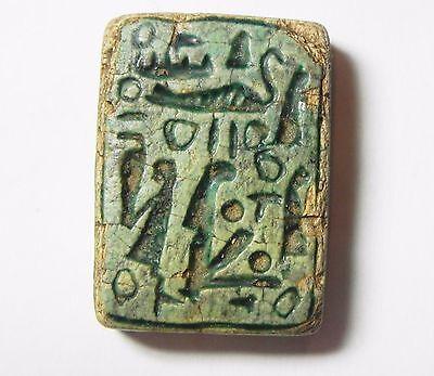 Zurqieh -Abq4- Ancient Egypt, New Kingdom. Large Stone Plaque 1400 B.c 2