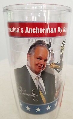Rush Limbaugh Anchorman by Day Rush Revere by Night 16 oz Tervis Tumbler(2ifbyT) 3