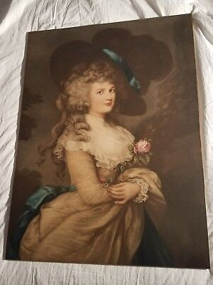 After Gainsborough - Her Grace Georgiana Duchess of Devonshire - Rare & Large - 10