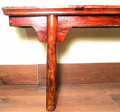 Antique Chinese Ming Bench (3273), Cypress Wood, Circa 1800-1849 5