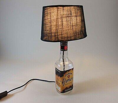 Jim Beam Honey - Flaschenlampe Tischlampe LED 220V mit Schalter ORIGINELL S1h 3