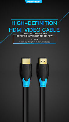 4K Ultra HD Premium HDMI Cable V2.0 3D High Speed Ethernet Gold Plated 1m 2m 3m 9