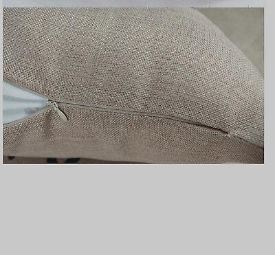 Kissenhülle Kissenbezug Motivkissen Efeu Canvas-Stoff 43x43 cm