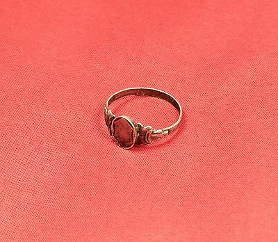 Nice Silver Finger Ring From the 19. Century 2