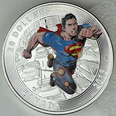 Canada 2015 Superman Iconic Comic Book Covers Superman #28 $20 Pure Silver Proof