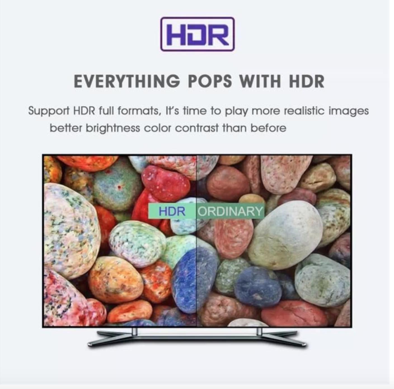 Box Android Multimédia 4GB+32GB WIFI Quad Core Lecteur Multimédia Smart TV BOX 3