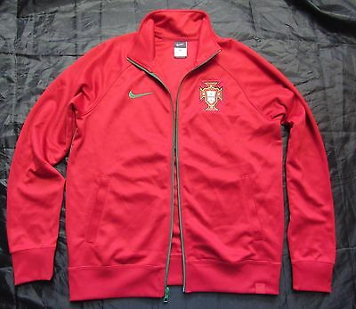 ... PORTUGAL Training Authentic ZIP Jacket NIKE Soccer Football men adult  SIZE M 6 8fdba397f