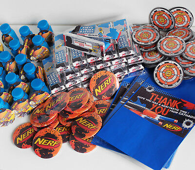 Nerf gun personalised party bag for boys and girls