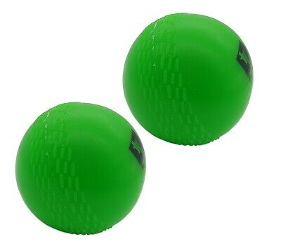 INDOOR OUTDOOR PRACTICE CRICKET WIND BALLS GREEN