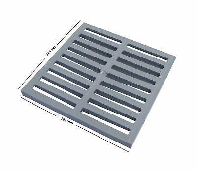 Einlaufschacht ohne Einlaufrost aus Kunststoff 532585 Ablauf Gully Hofablauf 300 x 300 mm