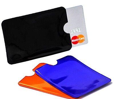 EC Kartenhülle RFID Schutzhülle Blocker Kreditkarten Ausweis Scheckkartenhülle