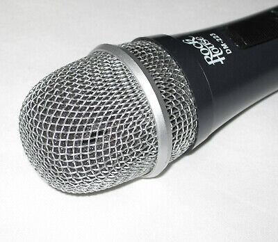 Rockhouse dynamisches Mikrofon DM-223 grau inkl. Kabel 6,3mm Klinke #7241 2