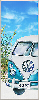 Fensterfolie Bulli T8 SichtschutzFolie Milchglas Motiv Aufkleber Dekofolie