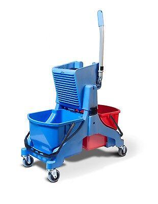 Numatic Schwenkbarer 5 Liter Eimer Blau für Doppelfahreimer MidMop ProCar PreCar 3