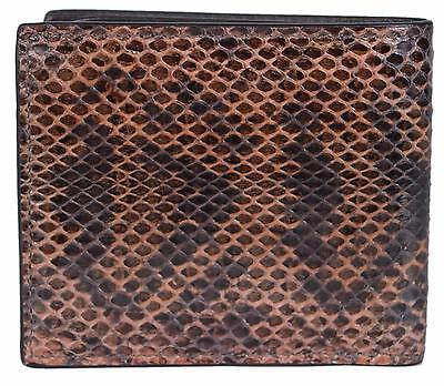 e1d7e728daf2 ... New Gucci Men's $620 365475 Brown Lizard Skin Ayers Bifold Wallet