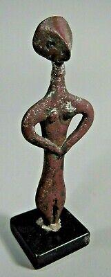 RARE Ancient Syro-Hittite Copper Idol ca. 2800-1500 BC Ex Jeff Hunter Collection 4