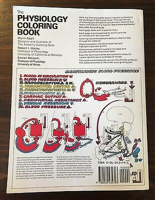 THE PHYSIOLOGY COLORING Book Esmail Meisami, Wynn Kapit ...
