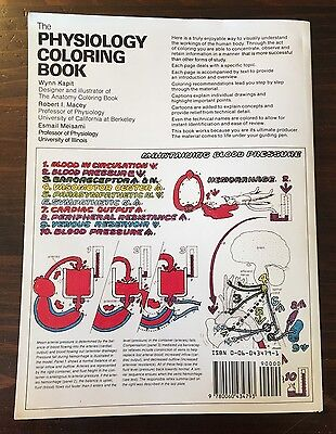 THE PHYSIOLOGY COLORING Book Esmail Meisami, Wynn Kapit, Robert I ...