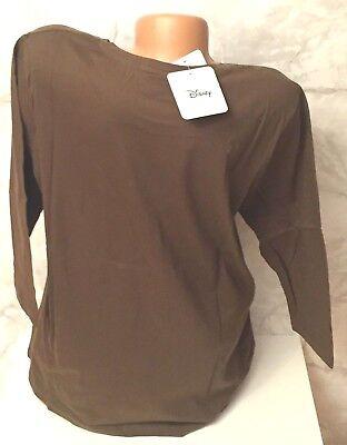 100/% Baumwolle Damen Langarm Shirt weiß Gr 44//46 48//50 52//54 56//58 mit Motiv