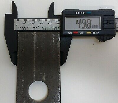 2 x 76MM x 95MM WELD ON ANTILUCE PLATE TRAILER GATE FENCE DOOR MAYPOLE MP840B 5