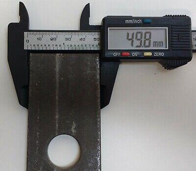 Weld On Antiluce Plate Trailer Gate Fence Door 2 X 76Mm X 95Mm Maypole Mp840B 5