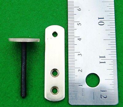 Antique clock brass stabiliser/ Clock case repair