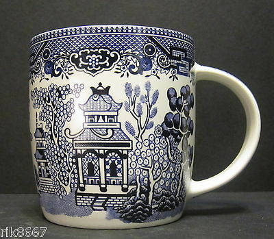 6 A Set Of Six Willow pattern Dream Mugs  by Churchill England 2
