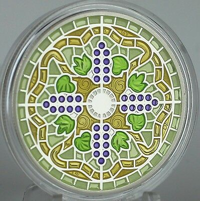 Canada 2014 $20 Stained Glass: Casa Loma, 1 oz. Pure Silver Coin, #2 in Series 4