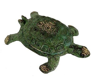 Ancient Greek Bronze Museum Statue Replica turtle