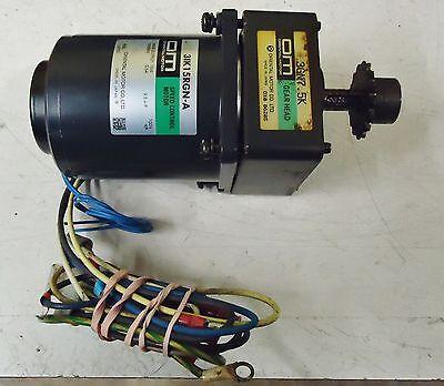 Oriental Motor  31K15Rgn-A Speed Control Motor. Oriental Gear Head M/n 3Gn7.5K 2