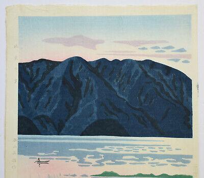Originale Japanese Woodblock Print By Nishijyama Hideo 4